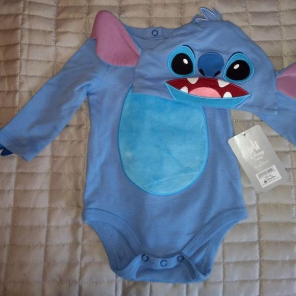 c5d69476affd Disney Stitch Baby Onesie